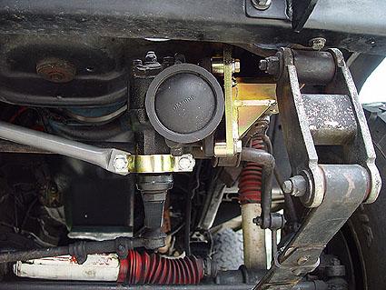 M O R E Heavy Duty Steering Bracket And Brace For Jeep Cj S