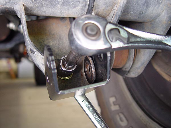 Currie Rear Shock Mount Extension Bracket Installation for ...