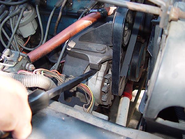 Jeep Cj 258 Serpentine Belt Replacment Write
