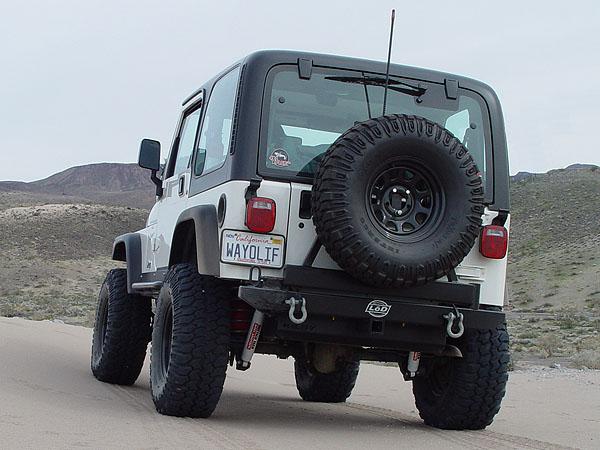 LoD Rear Bumper Tire Carrier Jeep TJ