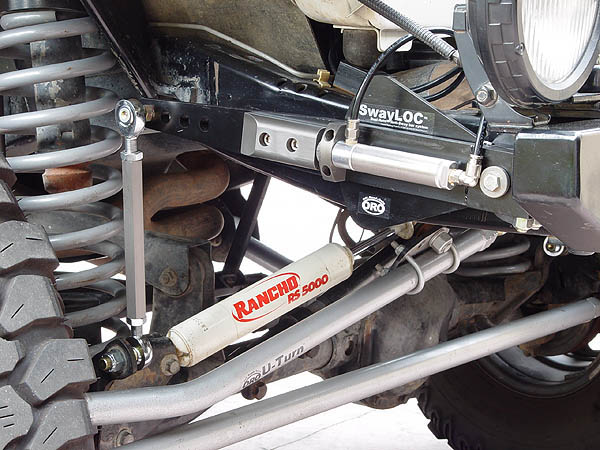 Off Road Only Swayloc Anti Sway Bar System Jeep