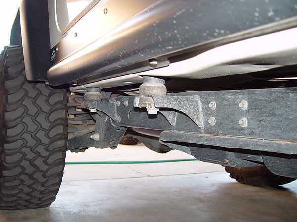 Performance Accessories 1 Inch Jeep Body Lift Installation
