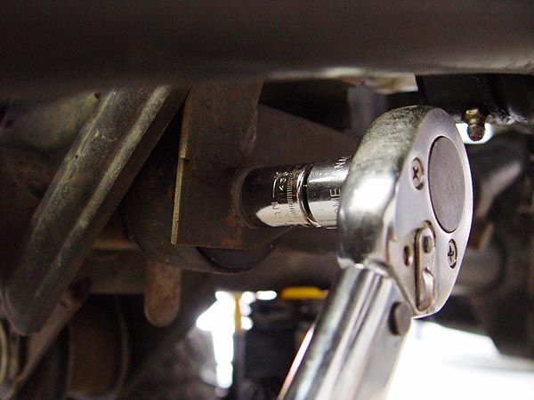 Track Bar Axle Mount