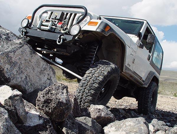 Rubicon Express 3 5 Super Flex Suspension Lift Installation Jeep Tj