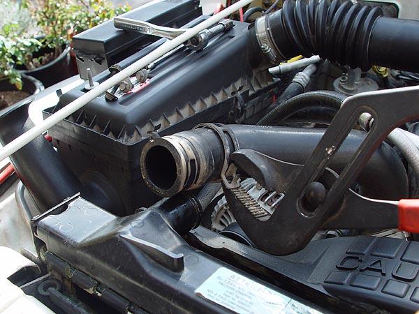& Jeep TJ - Metal 3 Core Radiator Installation